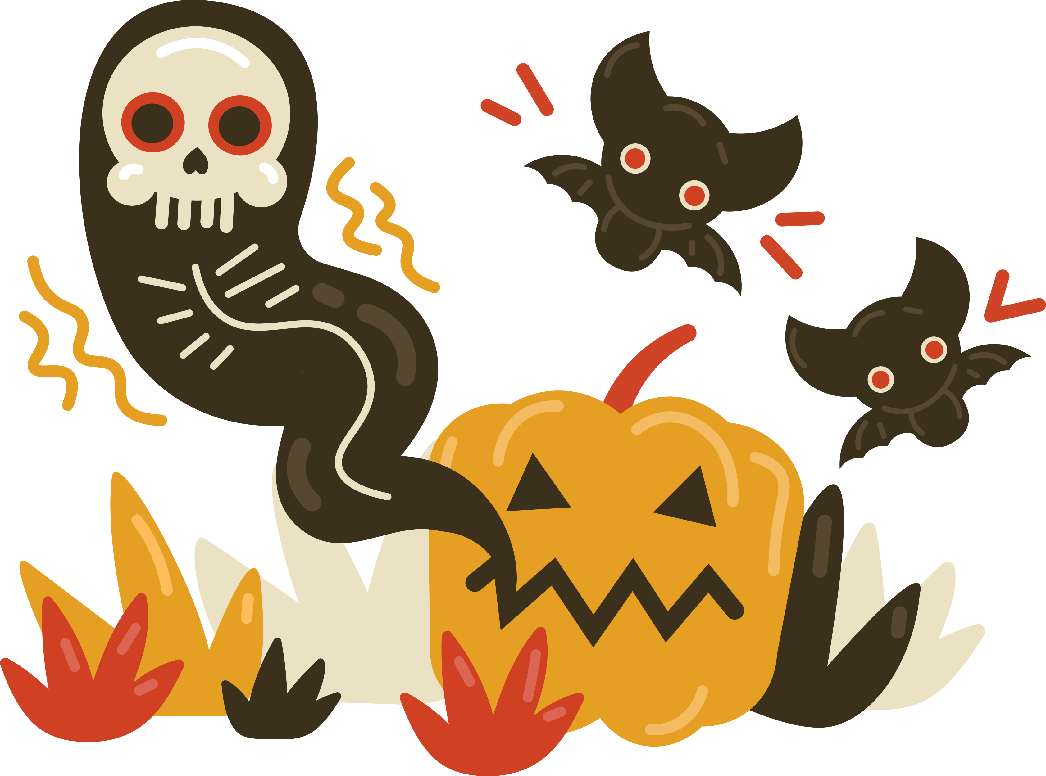 Cover for Halloween music playlist